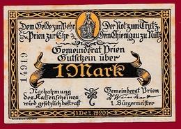 Allemagne 1 Notgeld 1 Mark Stadt Prien Dans L 'état Lot N °5754 - Verzamelingen