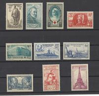 FRANCE . YT  N° 420/439  Neuf **  1939 - France