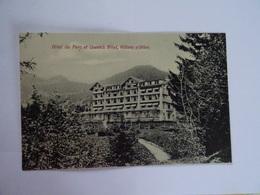CPA  SUISSE Hotel Du Parc & Queen's Hotel Villars S/Ollon  TBE - VD Vaud