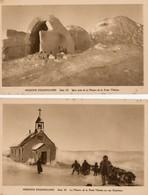 Groenland. 2 CPA.  Cap Esquimau, Iglou. - Groenland