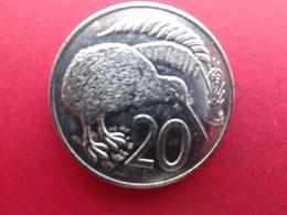 New Zealand  20  Cents  1989  Km 62 - Nouvelle-Zélande