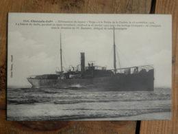 """CPA (17) Charente Maritime - Echouement Du Vapeur """"Volga"""" à La Pointe De La Coubre, Le 23 Nov 1906 - Non Classificati"""