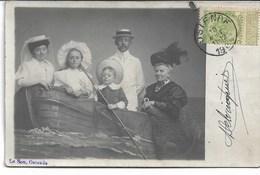 CARTE-PHOTO  BELGIQUE OSTENDE ( 4CP) Souvenir D'Ostende 1912 Photographie Le Bon Studio - Oostende