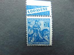 Superbe N°. 149** Type Jeanne D'Arc Avec Pub Floravène - Advertising