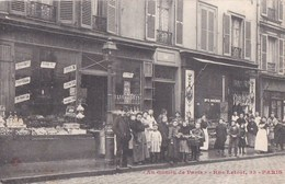PARIS XVIII  33 Rue LETORT Animation Enfants BOUTIQUES  AUX GAMINS De PARIS  Maison DOREMUS Epicerie VINS - Arrondissement: 18