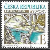 Tschechische Ceska Czech Rep. 2018 Europa Cept Michel 977 Used Obliteré Gestempelt Oo Cancelled - 2018