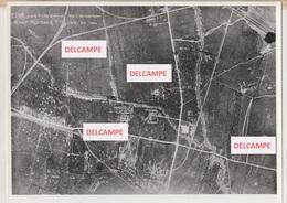 LUCHTFOTO FERME MORDACQ 21-8-1918 STAPLE (?) FRANKRIJK  FRANCE WERELDOORLOG I - War, Military