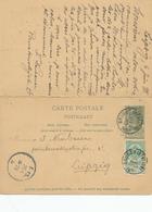 DDW618 - Entier Postal Armoiries DOUBLE - BRUGES 1898 Vers LEIPZIG Et Retour LEIPZIG Vers BRUGES - Enteros Postales