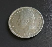 SPAGNA  ESPANA - 1975 - Moneta 5 PESETAS JUAN CARLOS ,  Ottima - [ 5] 1949-… : Regno
