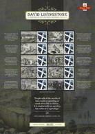 Gran Bretagna, 2013 CS21 200° Ann. Di David Livingstone, Esploratore, Smiler, Con Custodia, Perfetto - Personalisierte Briefmarken