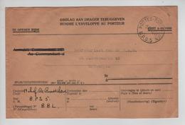 REF411/ Lettre En Franchise C.Postes-Posterijen 5/12/47 B.P.S. 5 > Antwerpen - Marcophilie