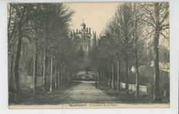 MONTMORT - L'Avenue De La Gare - Montmort Lucy