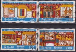 SRI LANKA 1976 SG 618-21 Part Set Used First 4 Stamps Of 6 - Sri Lanka (Ceylon) (1948-...)
