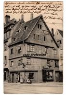 Straßburg, Strasbourg, Haus, Cigarren Geschäft, Alte Ansichtskarte 1913 - Strasbourg