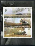 Grossbritanien Mi# 2175-7 Postfrisch MNH - Trains - 1952-.... (Elizabeth II)