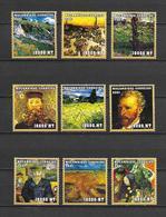 Mozambique 2001 Art - Paintings - Vincent Van Gogh I MNH - Autres