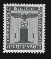 1942 2. März Dienstmarke Mi DR D155 Sn DE S12 Yt DR S116 Sg DR O798 AFA DR TJ155 Xx MNH - Deutschland