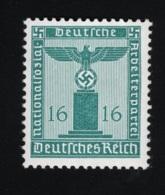 1942 2. März Dienstmarke Mi DR D162 Sn DE S19 Yt DR S123 Sg DR O805 AFA DR TJ162 Xx  MNH - Deutschland