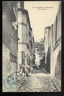 75013-PARIS-Curieuse Cité Doré - Rue Jenner... 1906  Animé - Arrondissement: 13