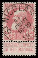 "COB 74 - Belle Obl. - ""St. NICOLAS"" - 1905 Grosse Barbe"