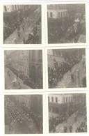 Lot De 12 Photos Carnaval De Chalon Sur Saône - Circa 1970 - Format 9 X 9 Cm - Avec Négatifs - Lieux