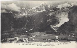 74 LES BOSSONS LE VILLAGE LA GARE AIGUILLE DU MIDI   GLACIER DES BOSSONS  VALLEE DE CHAMONIX MONT BLANC LOT 2 CARTES - Chamonix-Mont-Blanc