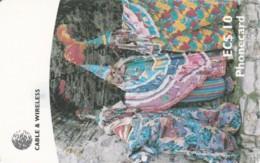 PHONE CARD ANTIGUA BARBUDA (E58.6.7 - Antigua And Barbuda