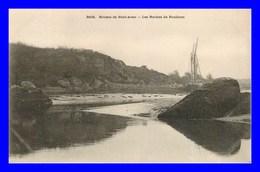 Pont Aven * Rivière * Les Roches De Poulicun   ( Scan Recto Et Verso) - Pont Aven