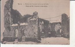 Ypres - Ruines Du Couvent De La Rue De Lille - Ieper