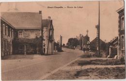 Henri Chapelle (Welkenraedt): Route De Liege. Formato Piccolo Viaggiata 1938 - Welkenraedt