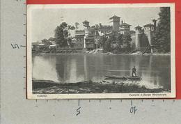 CARTOLINA VG ITALIA - TORINO - Castello E Borgo Medioevale - 9 X 14 - 1931 - Castello Del Valentino