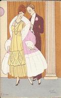 La Soirée ; The Evening  ; Wieeczor , Illustrateur : Maggy MONIER - Other Illustrators