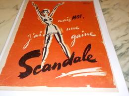 ANCIENNE PUBLICITE  LA GAINE SCANDALE 1951 - Autres