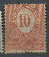 HAUTE SILESIE   -  Yvert N° 22 Oblitéré  - AY 10111 - Silesia (Lower And Upper)