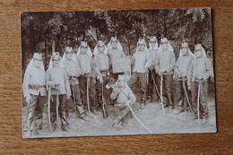 Carte Photo Les Hussards Du 14 Eme Régiments En Shako Et Dolman  En 1908 - War, Military