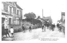 REPRODUCTION - SAINT HERBLAIN - LA MAIRIE ET ROUTE DE NANTES - Saint Herblain