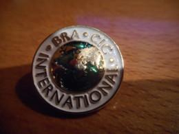 A048 -- Pin's BRA CIC International -- Exclusif Sur Delcampe - Banques