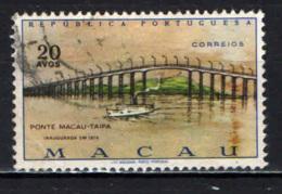 MACAO - 1974 - Macao-Taipa Bridge - USATO - Macao