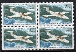 1960 Francia Posta Aerea N. A39 Quartina  Integra MNH** - 1960-.... Nuovi