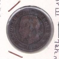 5 Centimes Napoleon III 1855 MA Chien - C. 5 Centesimi