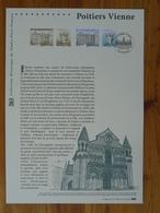 Document Officiel FDC 14-518 Cathédrale De Poitiers Reine Alienor D'Aquitaine Moyen Age Medieval 86 Vienne 2014 - Eglises Et Cathédrales