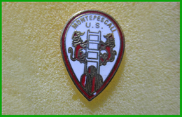 US Montepescali Grosseto Distintivi FootBall Soccer Spilla Pins Italy - Calcio