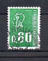 B246 France Oblitéré N° 1815b Avec N° Rouge Au Verso - Gebraucht
