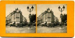 Photos Stéréoscopiques - Vichy  - La Rue De Nimes Et Le Parc  N° 4  - F 27 - Stereoscopic