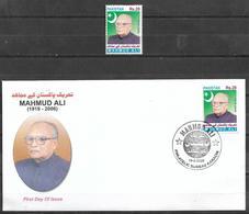 PAKISTAN 2020 STAMP AND FDC PIONEER OF FREEDOM MAHMUD ALI - Pakistan