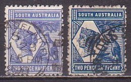 Südaustralien  76 AC+bC , O  (P 2532) - Gebruikt
