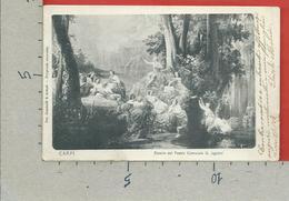 CARTOLINA VG ITALIA - CARPI (MO) - Sipario Del Teatro Comunale G. Ugolini - 9 X 14 - 1907 - Carpi