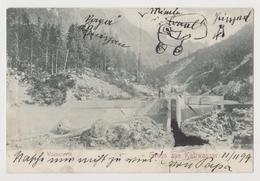Gruss Aus Kaltwasser, Wasserwerk - 1899 (Riofreddo, Tarvis, Tarvisio) - Unclassified