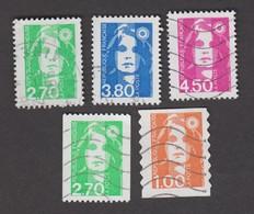 France Oblitérés - N° 3005 à 3009 - 1996 - TB - France