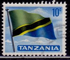 Tanzania, 1965, National Flag, 10c, Sw#6, Used - Tanzania (1964-...)